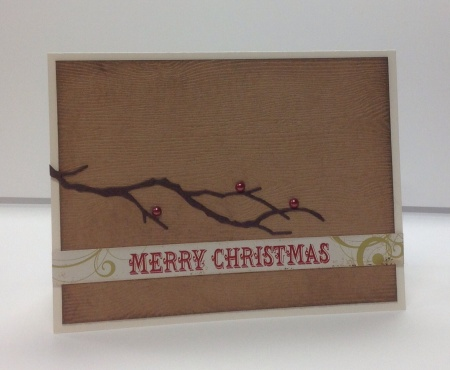 Card Kit - Christmas Branch