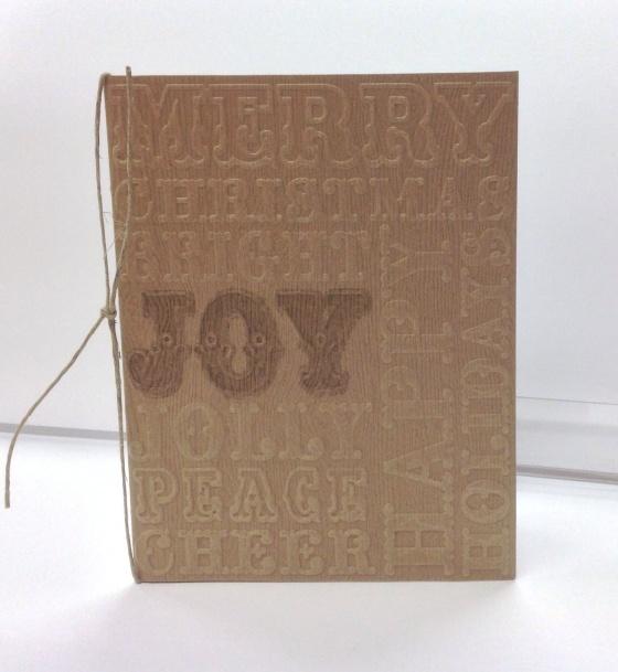 Card Kit - Embossed Woodgrain