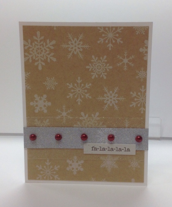 Card Kit - Fa la la la la
