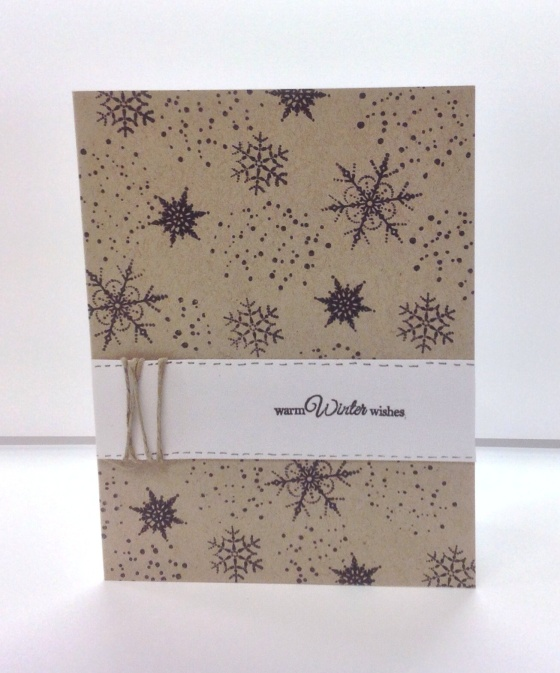 Card Kit - Snowflakes