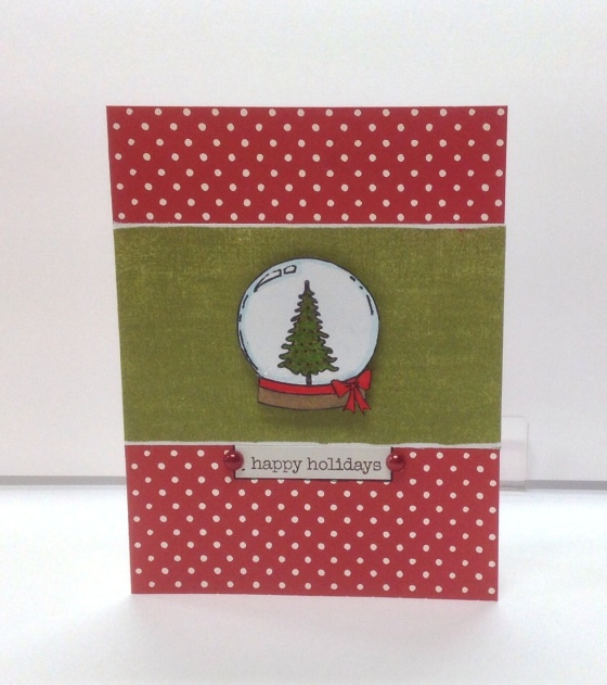 Card Kit - Tree Snowglobe