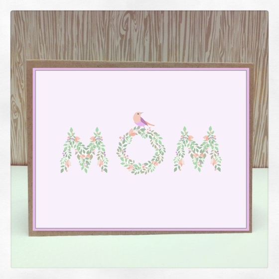 Digital Mom Card