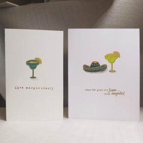 Margaritas Cards