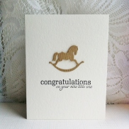 Congratulations rocking horse (1)