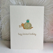 Happy Belated Birthday Snail (1)