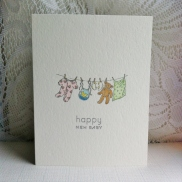 Happy New Baby clothesline (1)