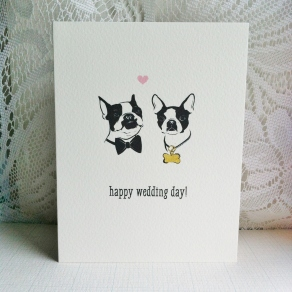 Happy wedding day dogs (1)