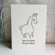 Save the drama for your llama (1)