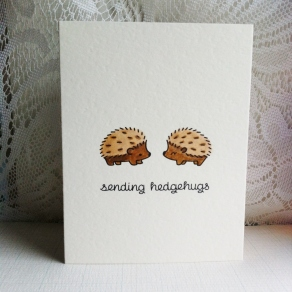 Sending Hedgehugs (1)