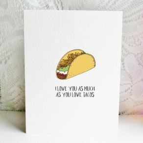 6x6 i love you more than you love tacos
