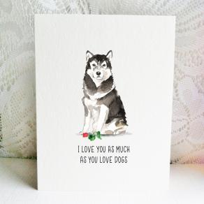 6x6 malamute love