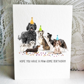 Party Pups - Labradoodle-Shihtzu-Doxie-Catahoula-collie-cocker