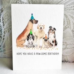 Party Pups - Great Dane Cocker Doodle Pug Aussie