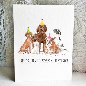Party Pups - Vizsla Westie Labradoodle English Bulldog Pointer