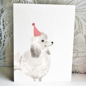 Poodle White