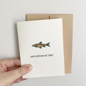 Happy Birthday Me Trout